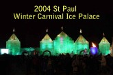 2004 St Paul Winter Carnival Ice Palace